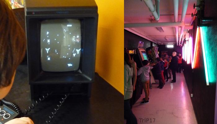 Vectrex et jeux d'Arcades