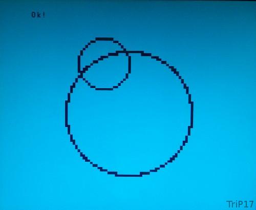 Cercles sur VG5000µ