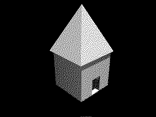 Maison d'origine, dithered high