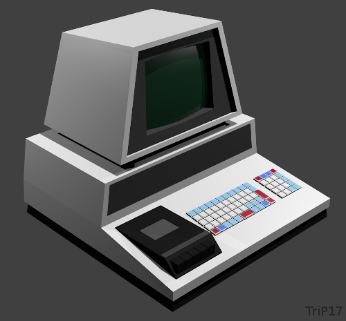 Commodore PET 2001 en 3D
