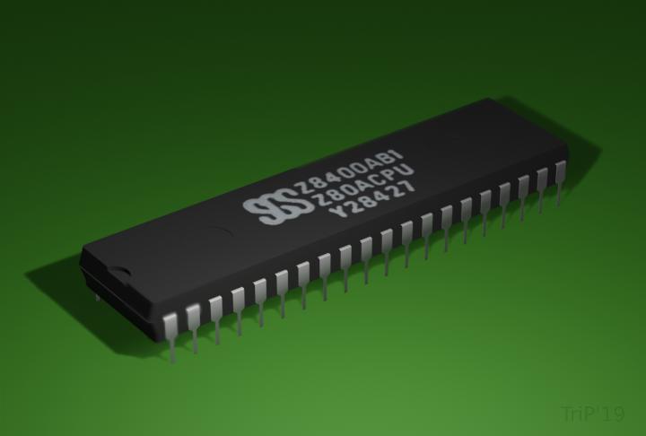 Z80 présent dans le VG5000µ